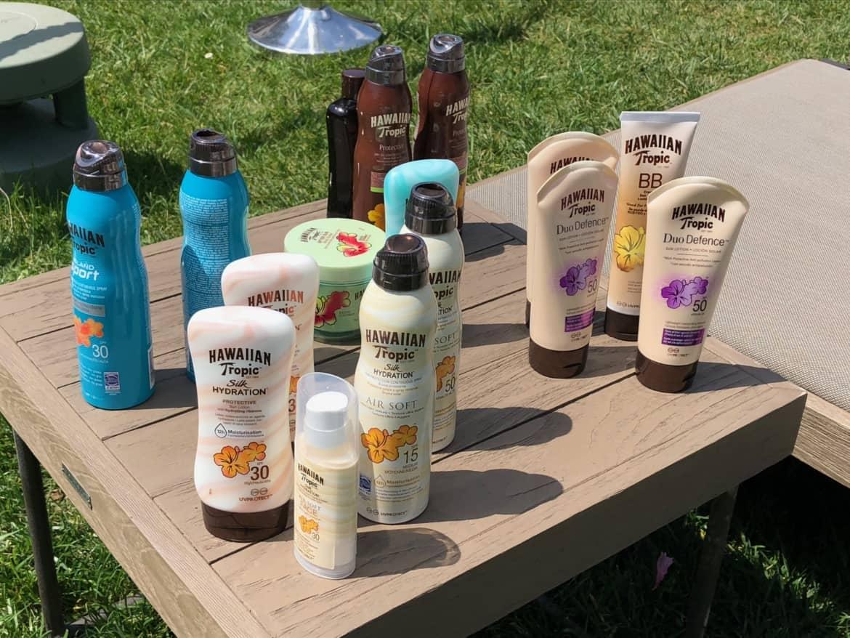 Hawaiian Tropic: solari, abbronzanti e doposole per l'estate 2019