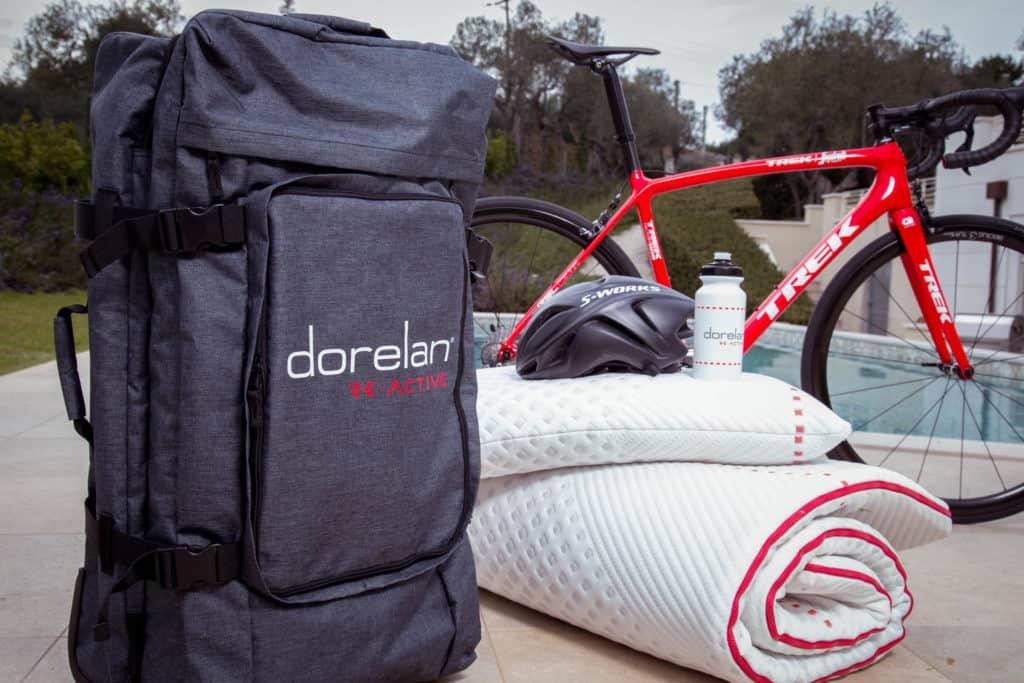 Dorelan presenta il set da viaggio ReActive: benessere e comfort anche in vacanza