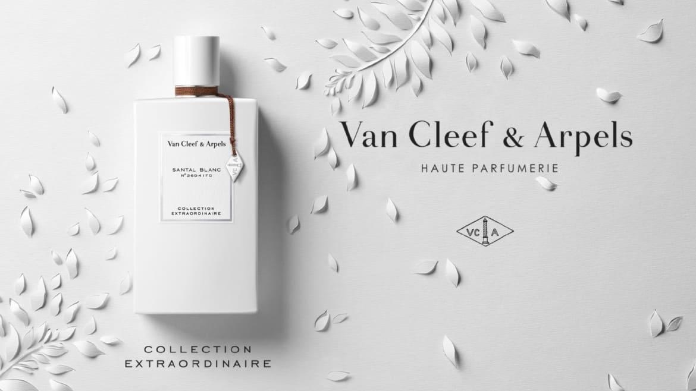 VAN CLEEF & ARPELS: la carezza del legno di sandalo nella fragranza Santal Blanc N°2694IFG