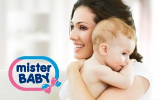 Mister Baby: lineaDermocosmetica per la pelle delicata del bambino
