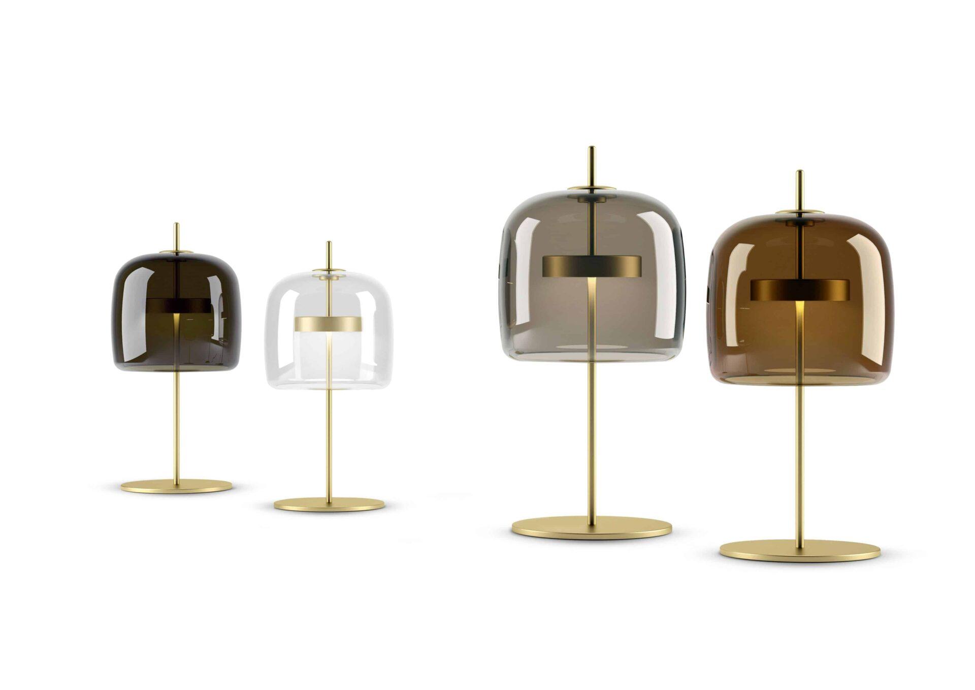 Collezione Jube di Vistosi, lo stile nell'illuminazione