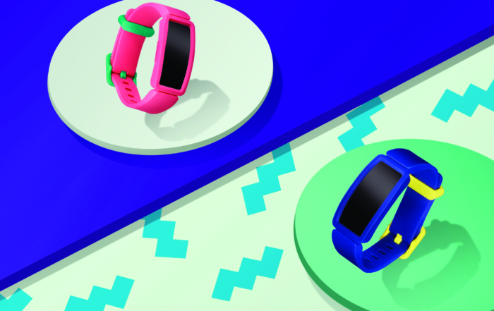 Indossa un colorato smartwatch Fitbit per monitorare il tuo benessere!