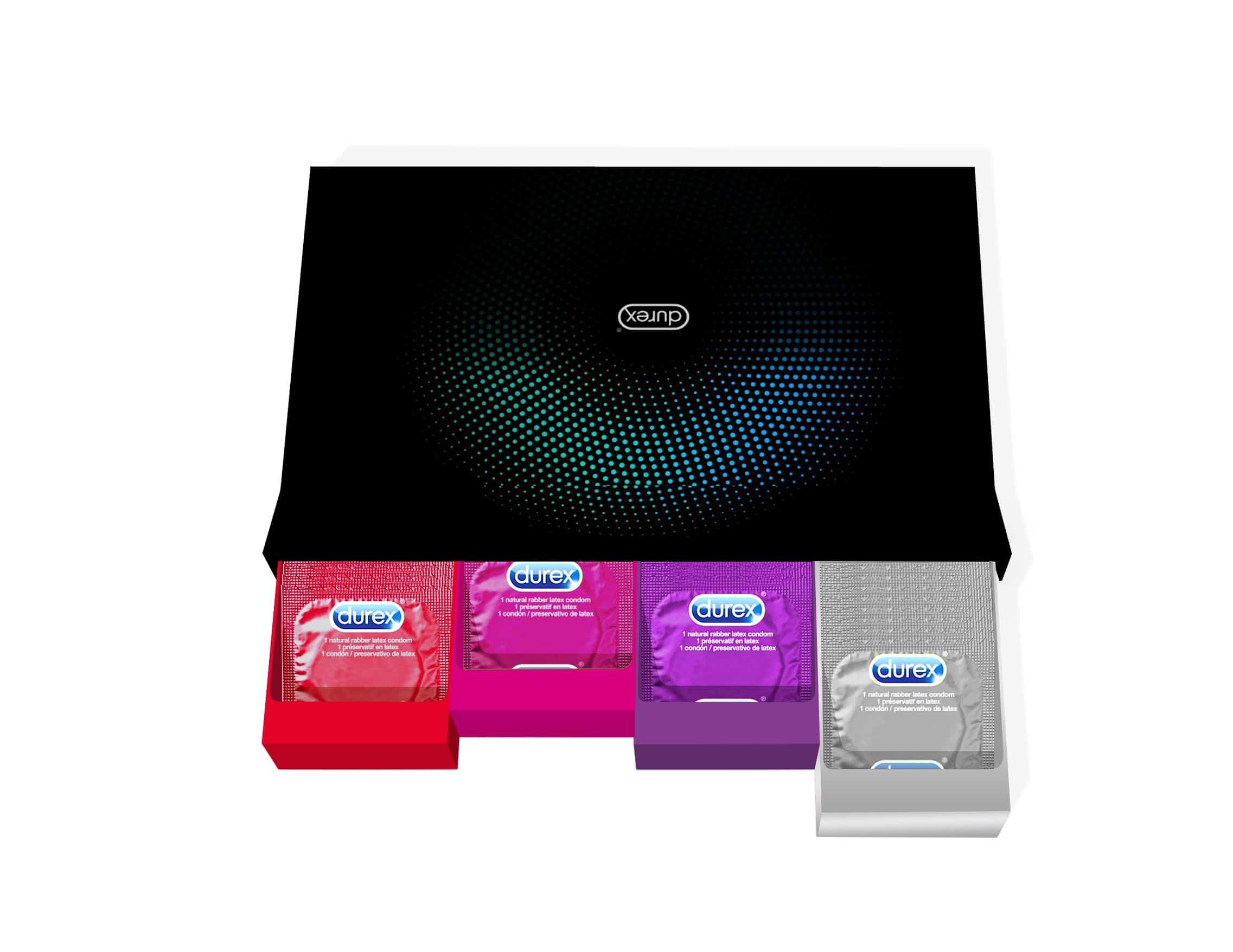 Durex: lancio del nuovo condom box in limited edition per l'e-commerce e nuova campagna