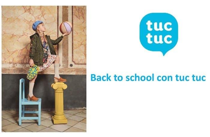 Tuc Tuc, per un rientro a scuola all'insegna del colore
