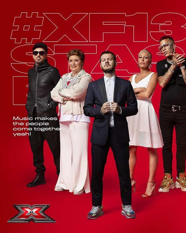 Dyson, L'Oreal e Toni&Guy Official Hair Partner di X Factor 13