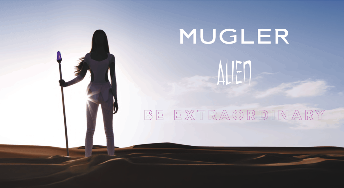 Alien by Mugler: be extraordinary