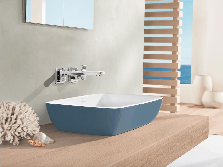 Villeroy & Boch: con legno, colore e illuminazione trasformi il tuo vecchio bagno!