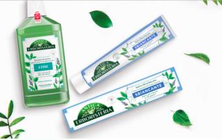 Da Antica Erboristeria il nuovo dentifricio sbiancante!
