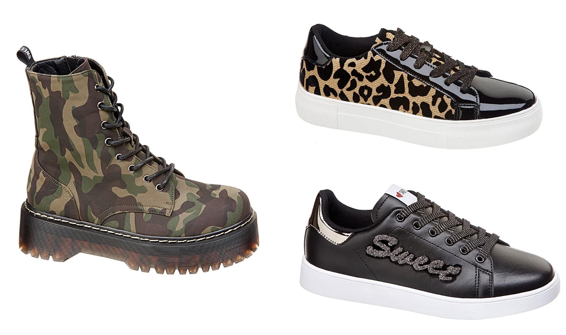 Sweet Years, la collezione di scarpe Autunno Inverno 2019