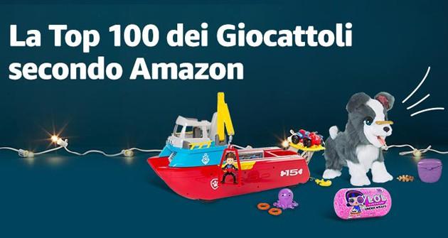 Su Amazon la Top 100 dei giocattoli più trendy per questo Natale e il ricercaregali