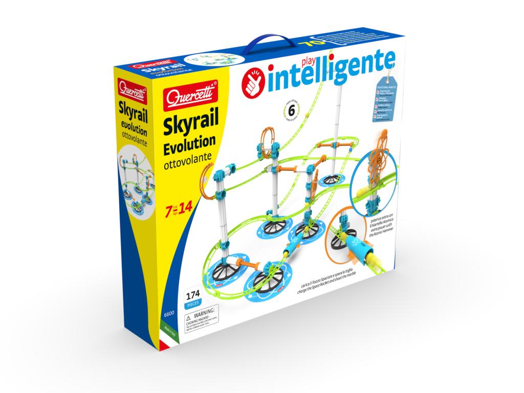 Skyrail Evolution Quercetti, l'ottovolante di nuova generazione