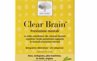 Con Clear Brain di New Nordic cervello in forma!