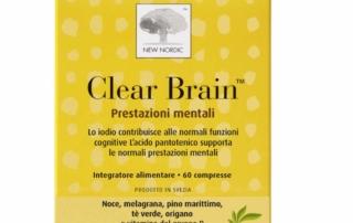 Con Clear Brain di New Nordic cervello in forma!