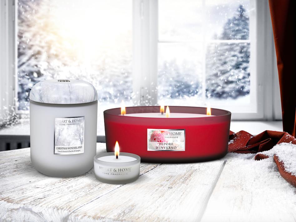 Fragranze Heart & Home, per un Natale ricco d'atmosfera