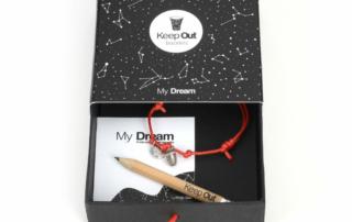 KEEP OUT presenta l'originale bracciale MY DREAM