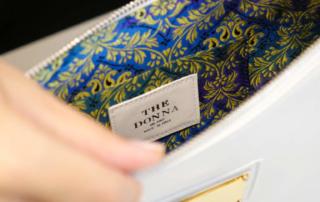 Sarah, la borsa gioiello minimal chic di The Donna
