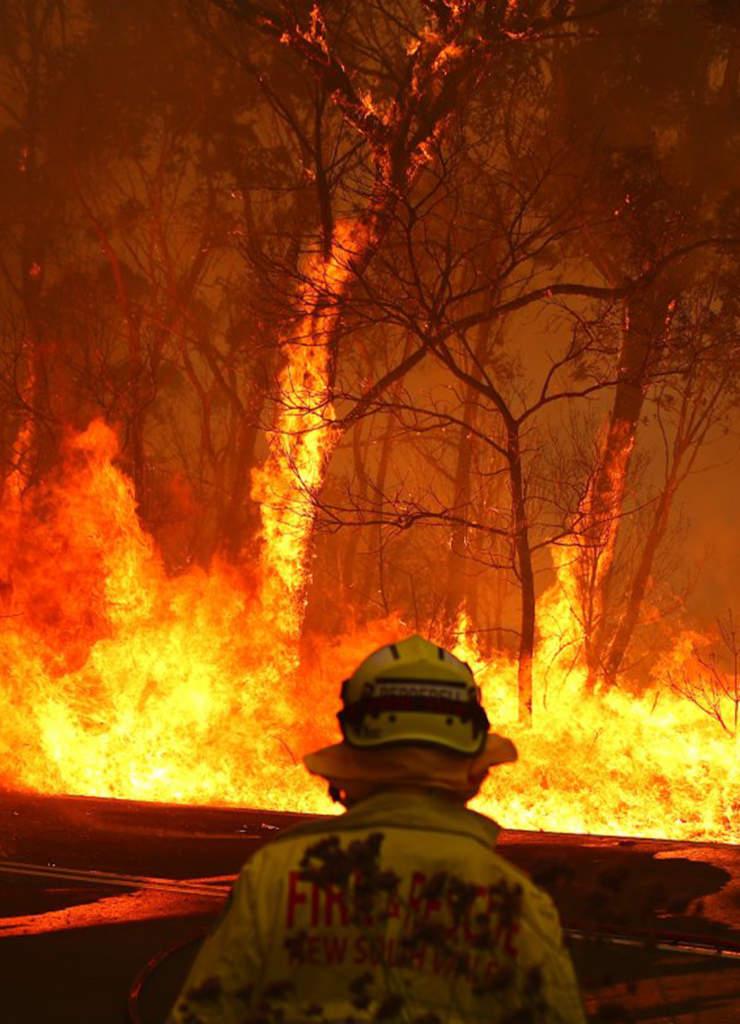 Grown Alchemist aiuta a combattere gli incendi in Australia