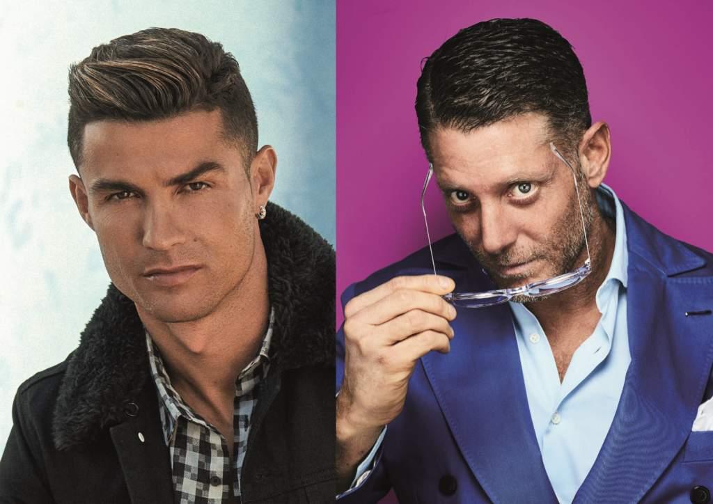 Cristiano Ronaldo e Lapo Elkann - Foto Lapo Elkann@Giovanni Gastel per Rolling Stone