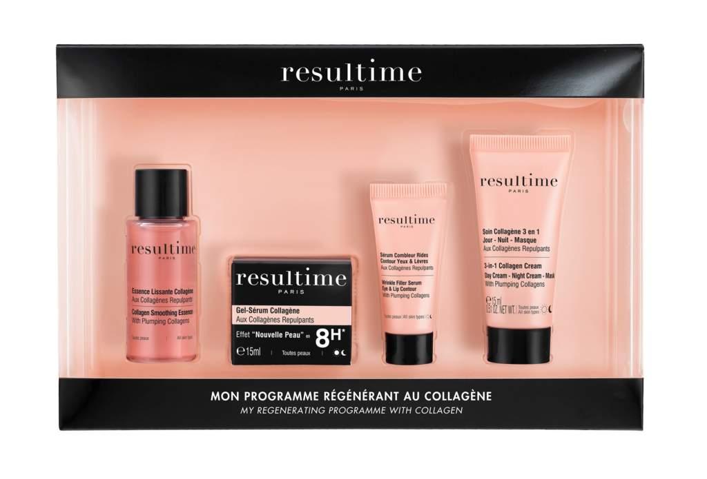 Travel Kit Collagene di Resultime: cosmetici mini size da tenere sempre in borsa