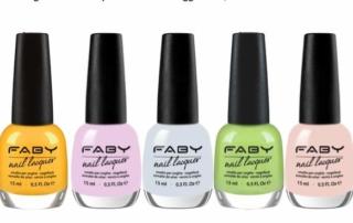 Faby Nails celebra la Festa della donna con cinque manicure color pastello