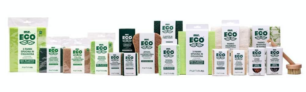 Linea Mr.Eco® di MartiniSPA, prodotti ecosostenibili per la cura della casa