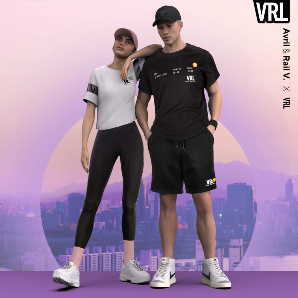 AW LAB per la nuova collezione sceglie modelli virtuali