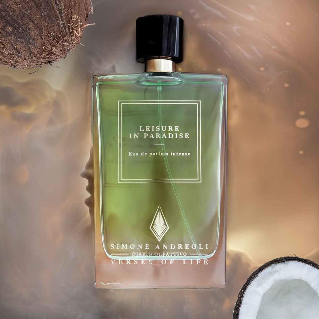 Leisure in Paradise, la nuova fragranza di Simone Andreoli