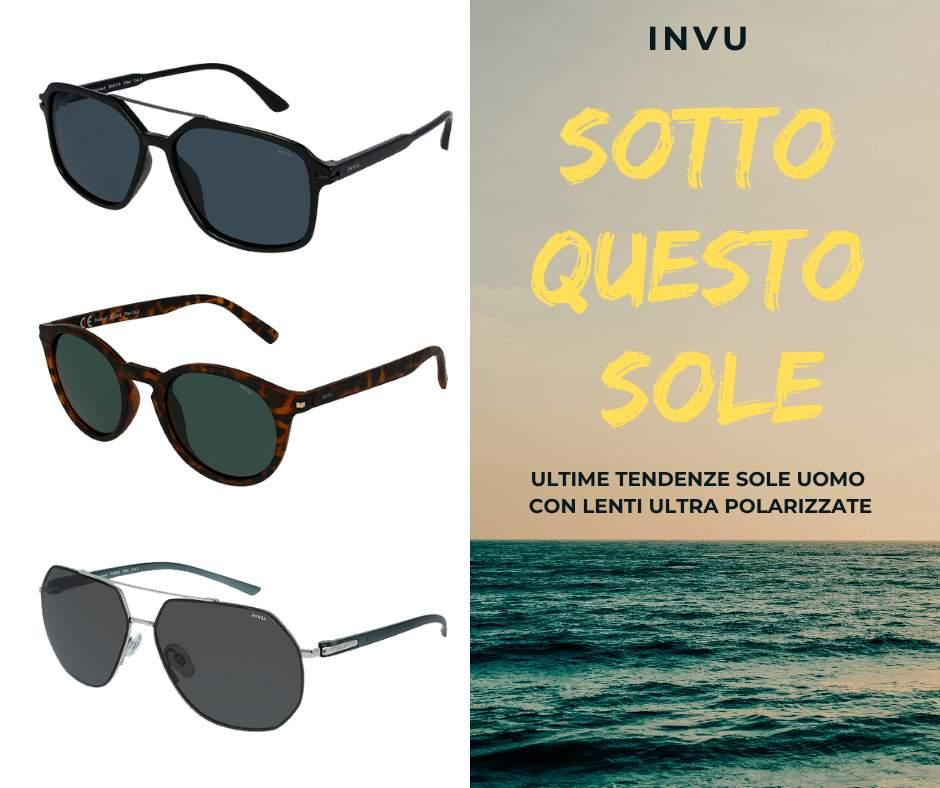 Invu: la moda eyewear uomo 2020
