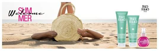 TIGI: il Keat Beach per capelli perfetti anche al mare