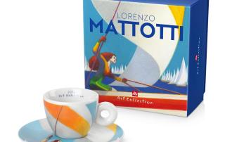 Illy caffè presenta tazza Lorenzo Mattotti