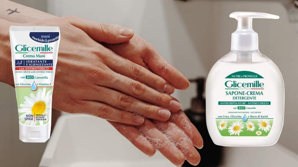 Mani morbide ed idratate grazie alle novità Glicemille