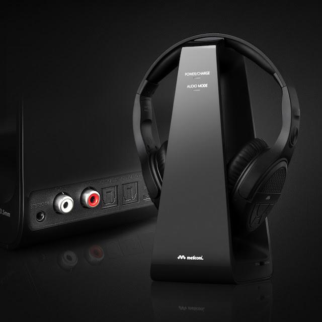 Meliconi: nuove Cuffie HP Digital wireless