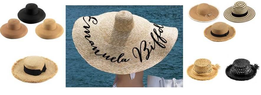 Emanuela Biffoli: i cappelli e gli accessori