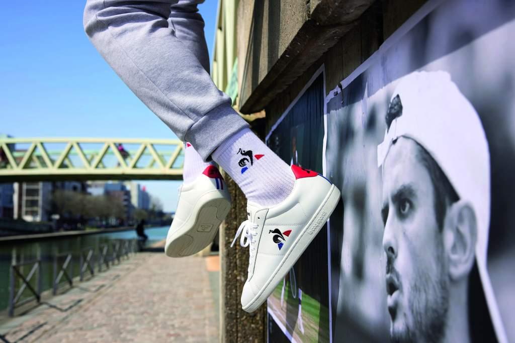 AW LAB e Le Coq Sportif: sneakers stile tennis