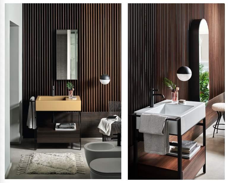 Ceramica Cielo: Narciso Mini, il lavabo freestanding