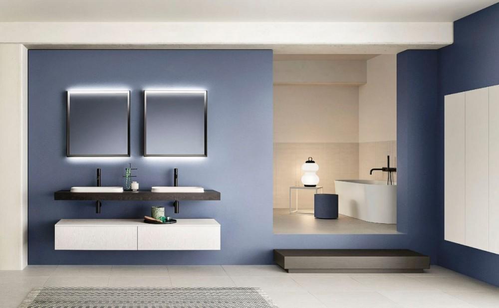 Arbi Arredobagno: doppio lavabo per l'arredo bagno