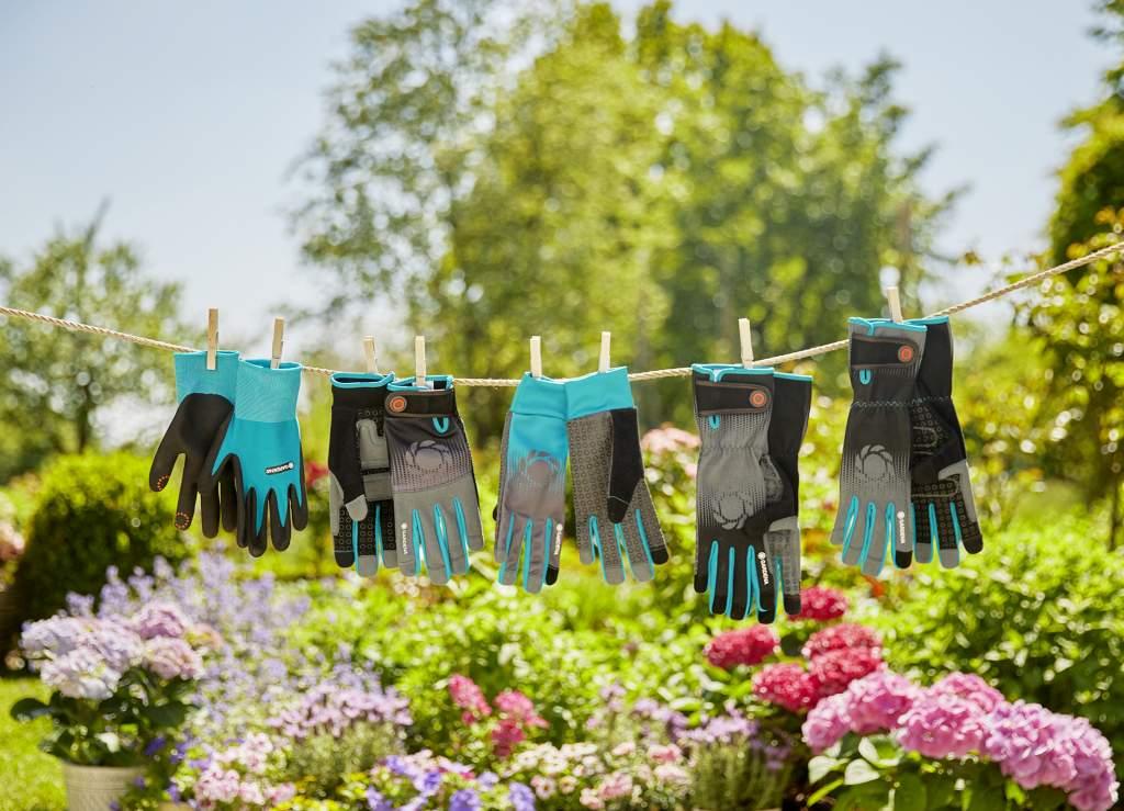 Gardena, i nuovi guanti da giardino