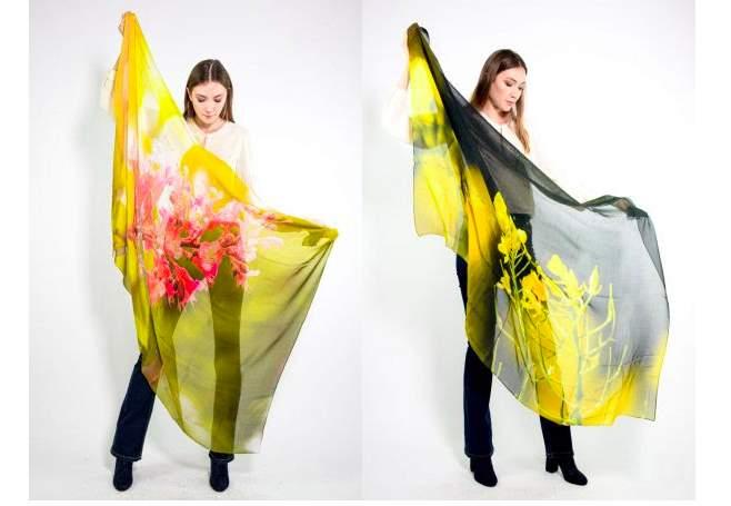BBflower accessories, i foulard che curano l'anima