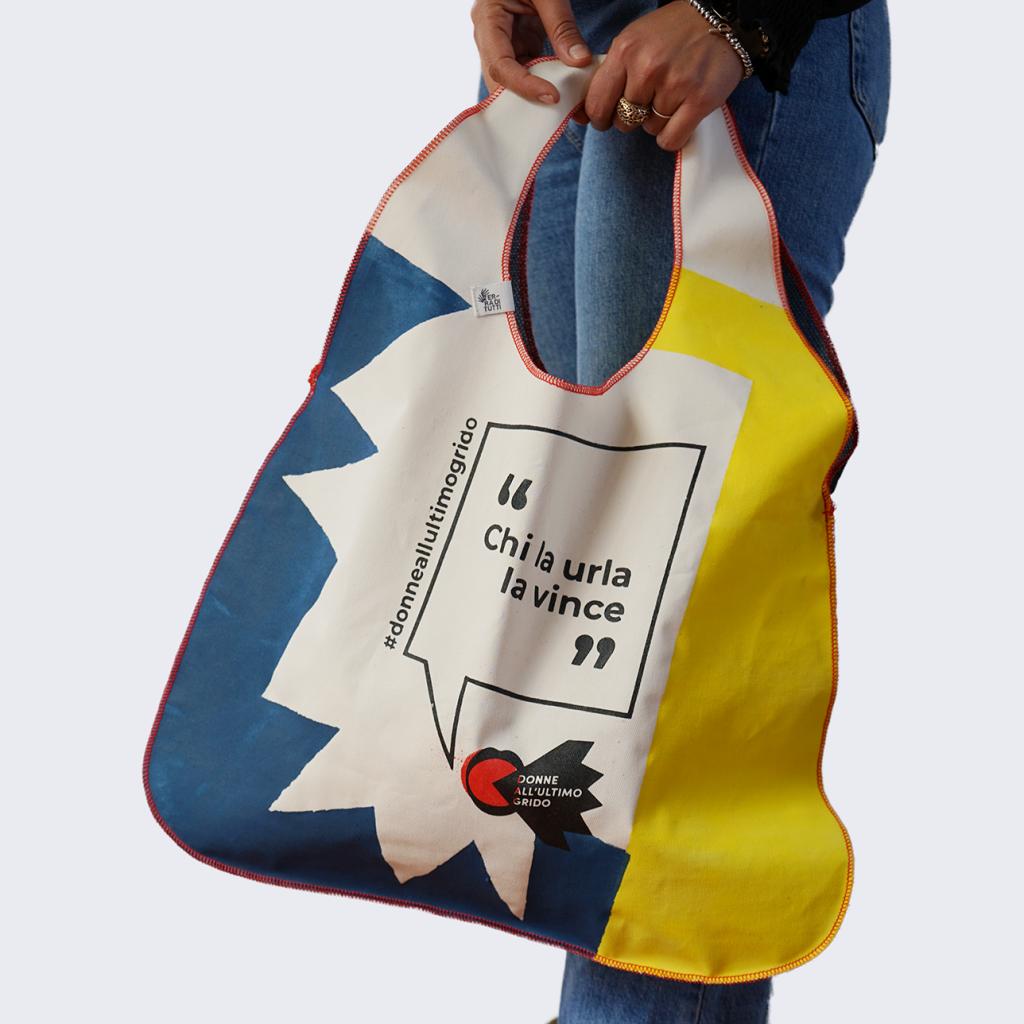 URLETTA: la shopping bag green che aiuta le donne