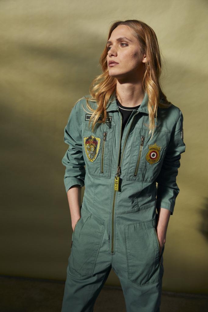 Aeronautica Militare autunno inverno 2021 2022: linea donna Born To Fly